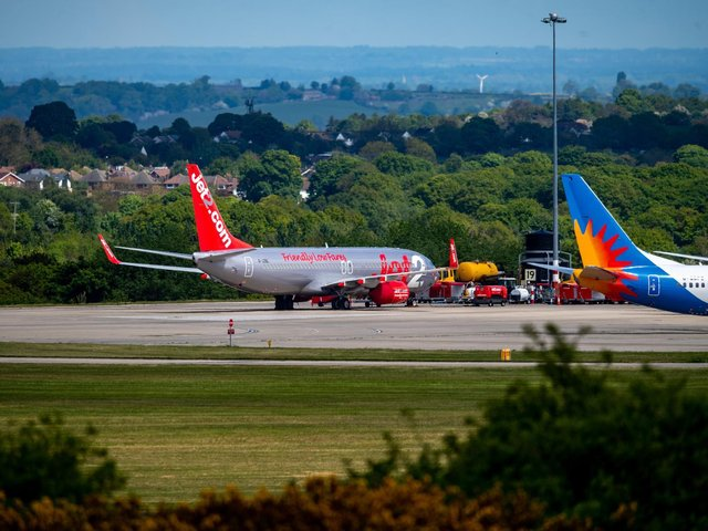 Leeds Bradford Airport. Photo: James Hardisty.