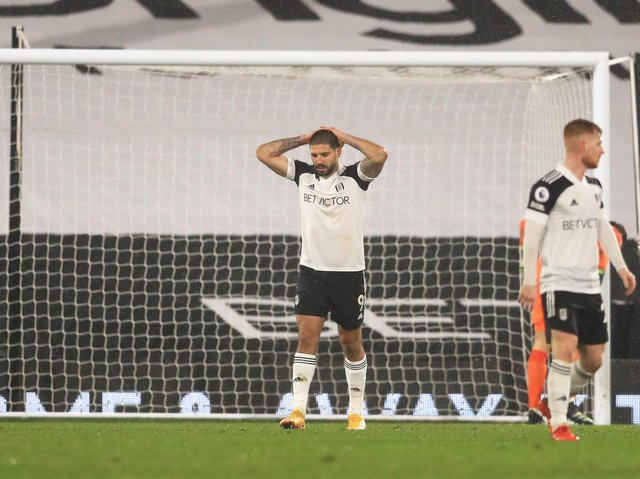 FORMER MENACE - Aleksandar Mitrovic has enjoyed himself against Leeds United previously, but not so this time. Pic: Getty