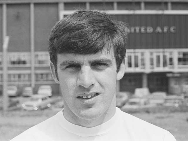 WHITES LEGEND: Former Leeds United star Peter Lorimer. Photo by Evening Standard/Hulton Archive/Getty Images.