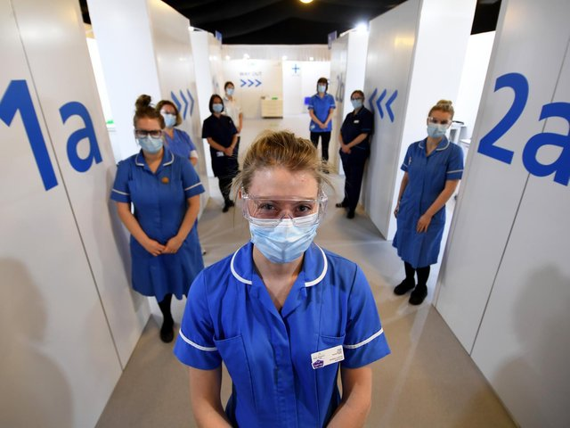 The Elland Road vaccination centre has been central to the city's roll-out.