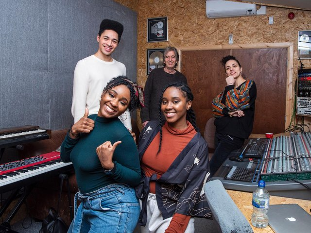 Artists rehearsing for the SheSings event hosted by Getaway Girls and Jojo Kelly from Capital FM. Copyright: Toolsie Photography