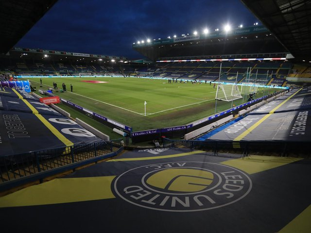 Leeds United's home ground Elland Road. Pic: Getty