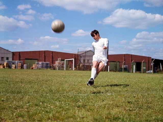 Peter Lorimer. Picture by PA.
