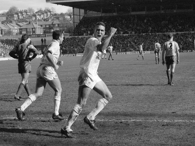 Enjoy these photo memories from Leeds United's 4-0 win against Sheffield United at Elland Road in April 1990.