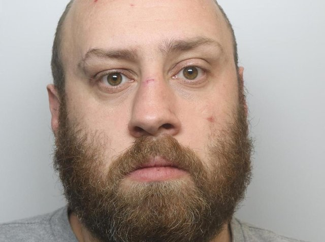 James Kilcoyne attacked his partner with a broom while she was nine months pregnant