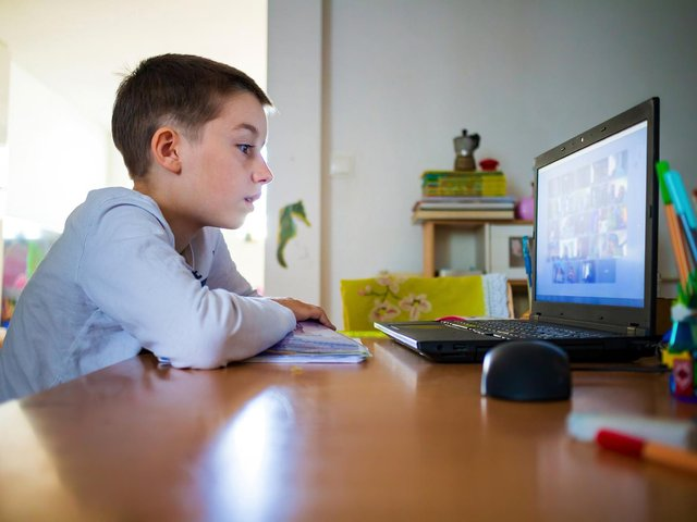 What has the impact of remote learning been on younger children?