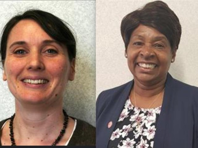 Eleanor Tunnicliffe (left) and Angela Wenham are no longer Leeds City Councillors.