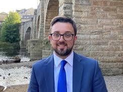 Conservative West Yorkshire mayoral candidate Matthew Robinson. Photo: Conservative Party