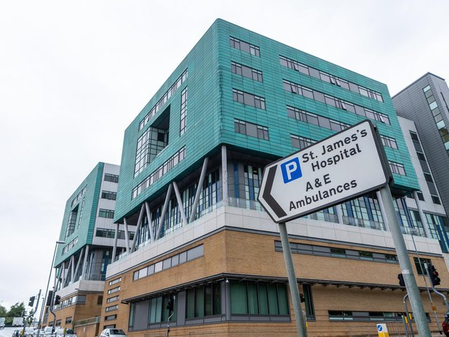 Stock image of St James' Hospital in Leeds. Picture: JPI Media