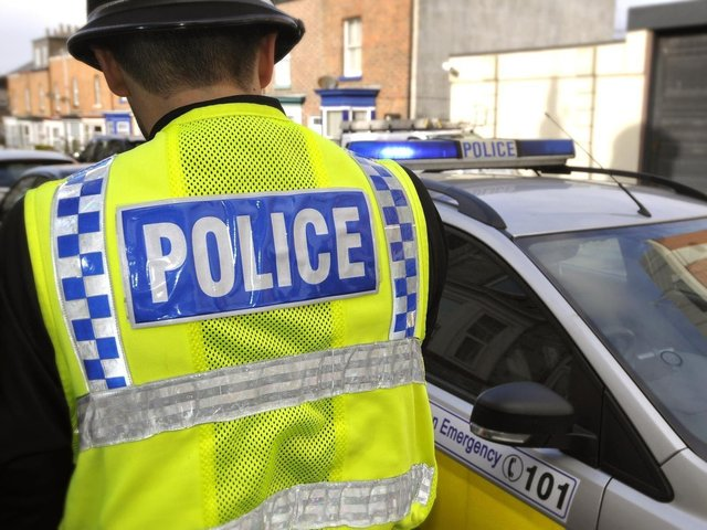 Police have now charged a man in connection with an incident of exposure on Friday last week.
