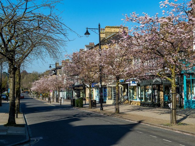 Ilkley was named as the best place to live in the North and Northeast in The Sunday Times Best Places to Live 2021. Photo: Bruce Rollinson