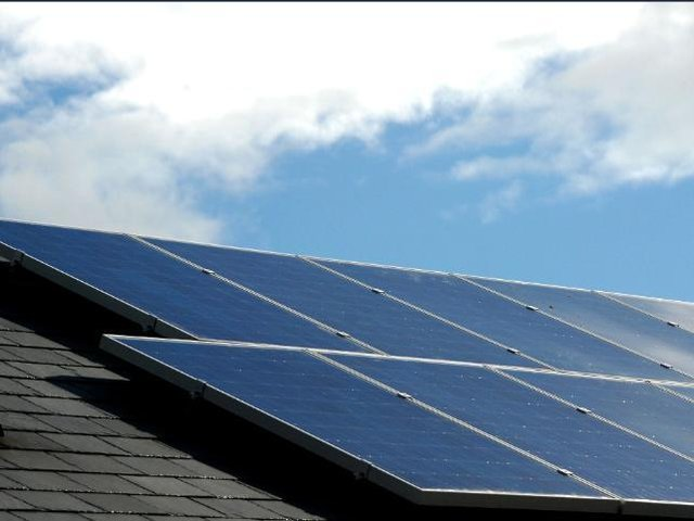 Solar panels are among the improvements set to be made to the estate.