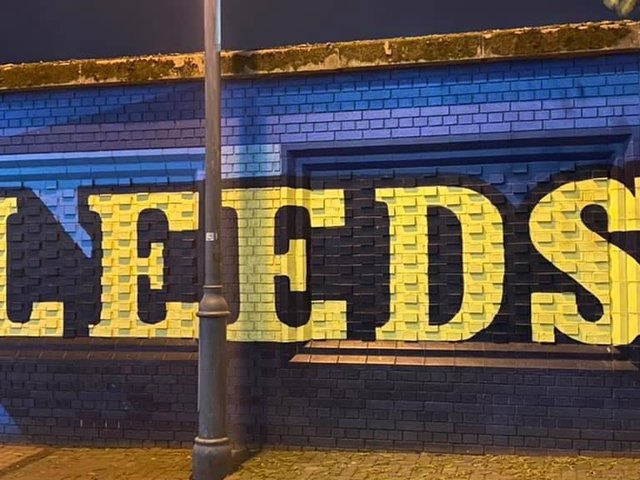 Landmarks in Leeds lit up on Tuesday to mark the National Day of Reflection (photo: Rob Wilson)