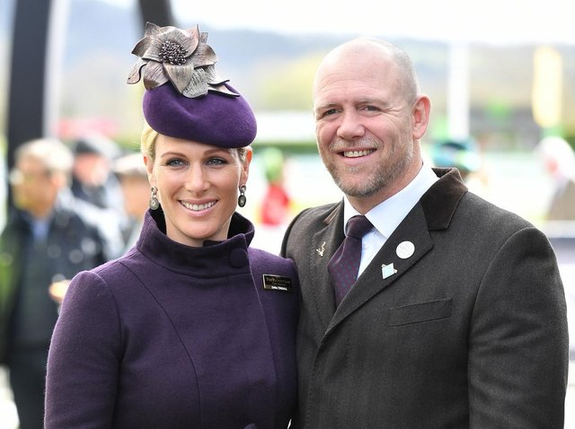 Zara Tindall and Mike Tindall at Cheltenham Racecourse (Photo: Jacob King/PA Wire)
