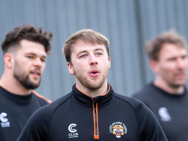 LATE CALL: Castleford will make a decision on Danny Richardson's fitness closer to Sunday's game with Warrington Wolves. Picture: Allan McKenzie\SWpix.com.