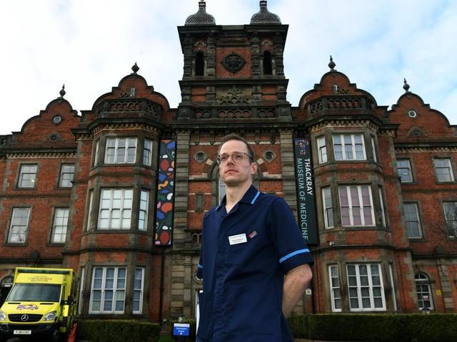Jamie Calderwood is a research nurse.