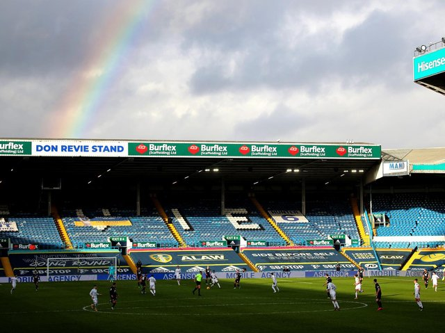 Leeds United's home ground of Elland Road. Pic: Getty