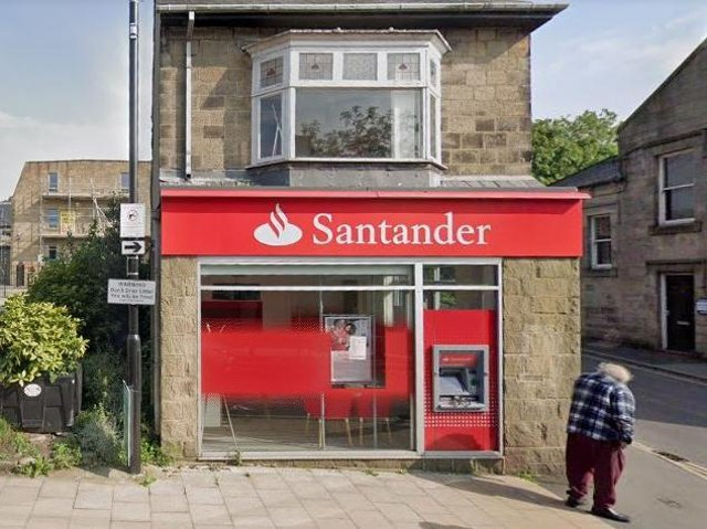 Santander in Horsforth will close in August (Photo: Google)