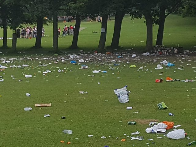 Ahead of restrictions regarding social distancing and gatherings potentially easing over the next few months, Leeds City Council is once again asking residents to please take their litter home or dispose of it in an appropriate way if visiting a city park or green space.