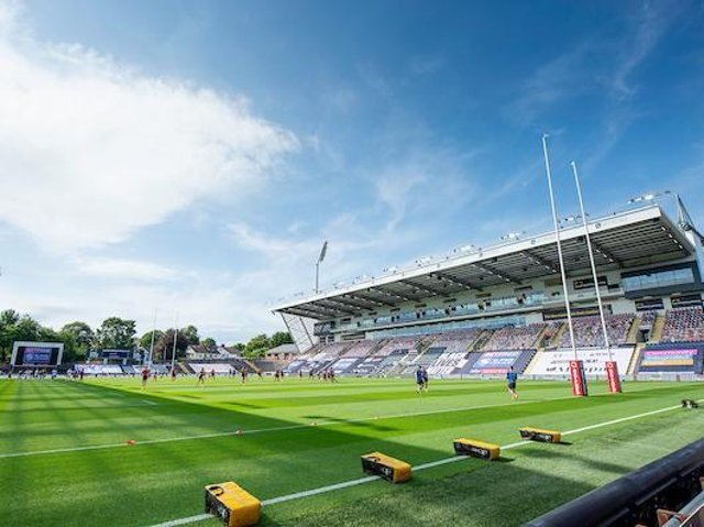 Leeds' Headingley Stadium will host all six Super League round one matches, including Rhinos' 'away game against Trinity. Picture by Allan McKenzie/SWpix.com.