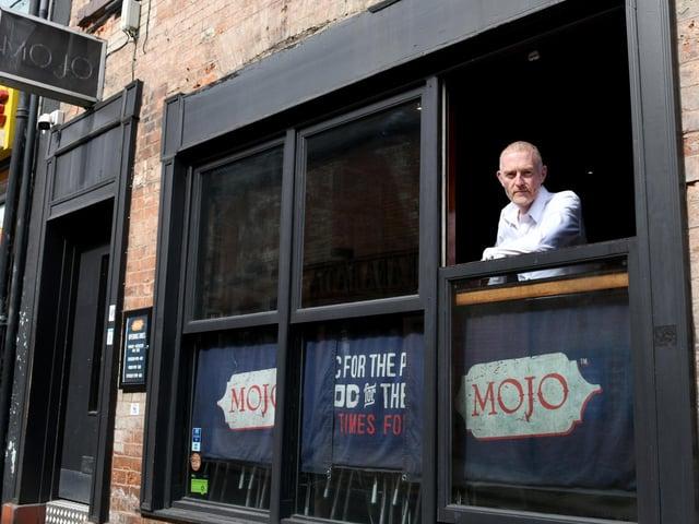Martin Greenhow, managing director of Mojo Bar,