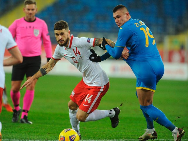 RULED OUT - Leeds United midfielder Mateusz Klich will miss Poland's games against Andorra on Sunday and England on Wednesday according to a report in his home country. Pic: Getty