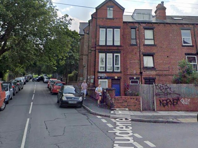 The Brudenell Road junction with Royal Park Grove in Hyde Park, Leeds (photo: Google)