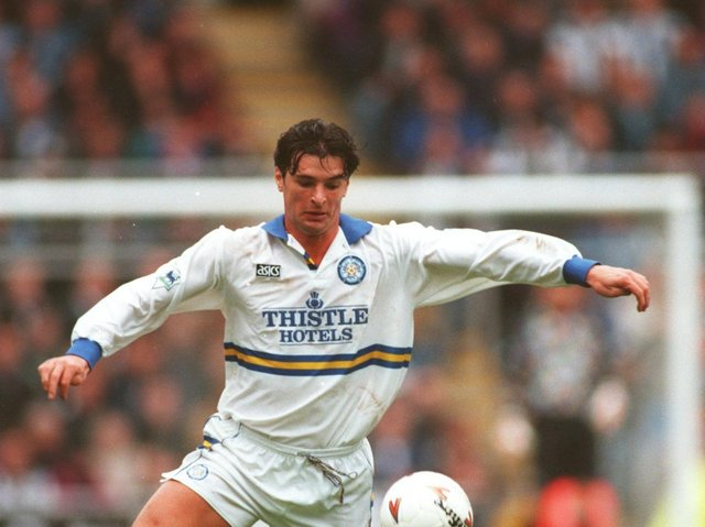 Enjoy these photo memories of Gary Speed in action for Leeds United. PIC: Getty