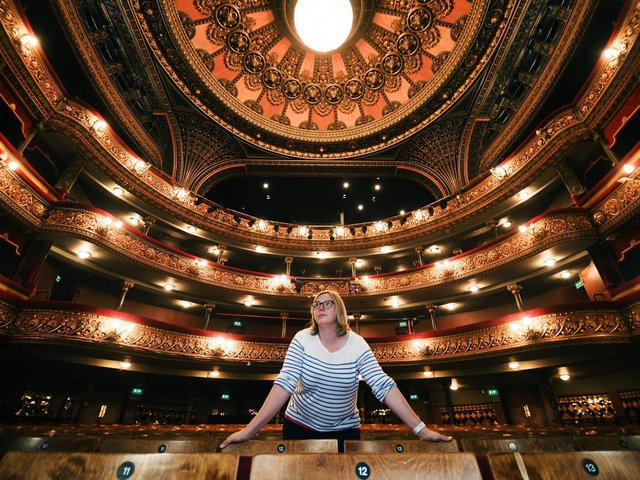 Amy Sanderson, head of communications at Leeds Heritage Theatres.