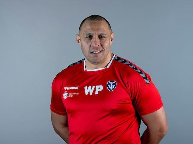 Former Wakefield player Willie Poching is back at Trinity as assistant-coach. Picture by Allan McKenzie/SWpix.com