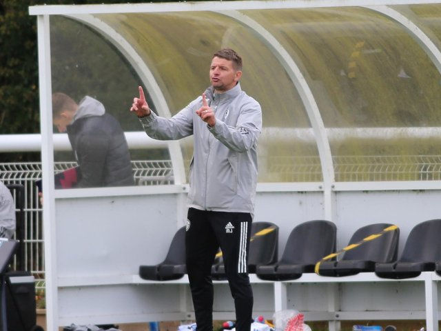 Leeds United Under-23s head coach Mark Jackson. Pic: LUFC