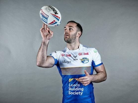 Luke Gale reckons Rhinos are ready for a big year. Picture by Allan McKenzie/SWpix.com.
