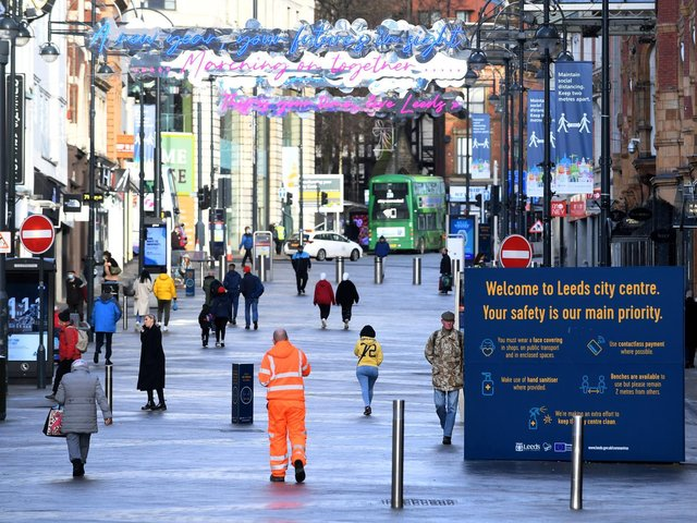 Lockdown rules are set to change in Leeds from tomorrow (Monday March 29).