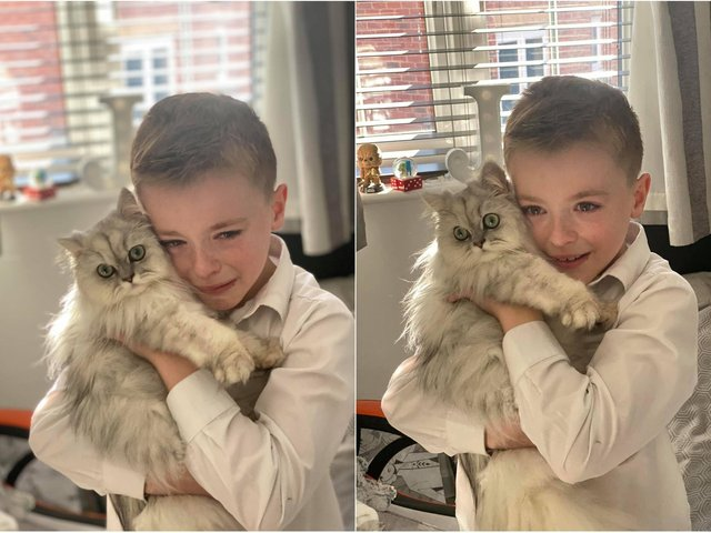 Jade Grainger's son reunited with Blossom.