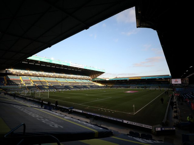 BREAK: Leeds United will return to action with next Saturday's Premier League Yorkshire derby against Sheffield United at Elland Road, above. Photo by Naomi Baker/Getty Images.