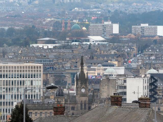 Bradford city centre.