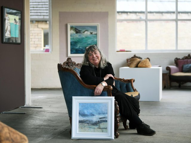 Jane Kay arts director at Sunnybank Mills in Farsley.