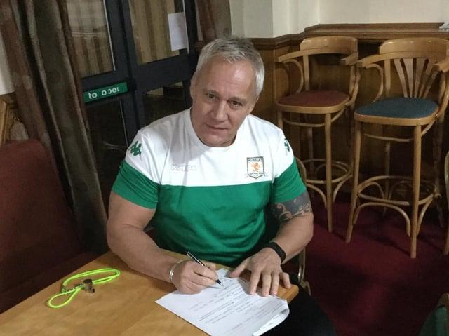 Gary Thornton. Picture c/o Hunslet RLFC.