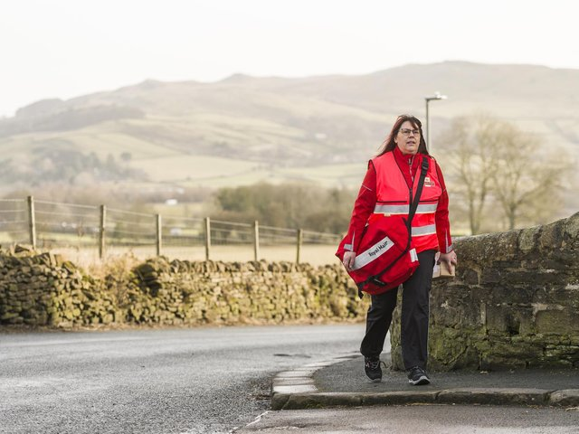 Royal Mail has seen a large surge in customers posting letters and using its services during the most recent lockdown.