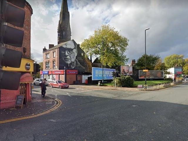 Hyde Park Corner, where the crash happened (Photo: Google)