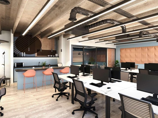 A CGI image of new studio offices by CEG in Albion Street. Photo: CEG.