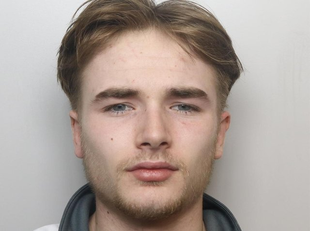 Burglar Zak Allinson was sent to a young offender institution for 22 months.