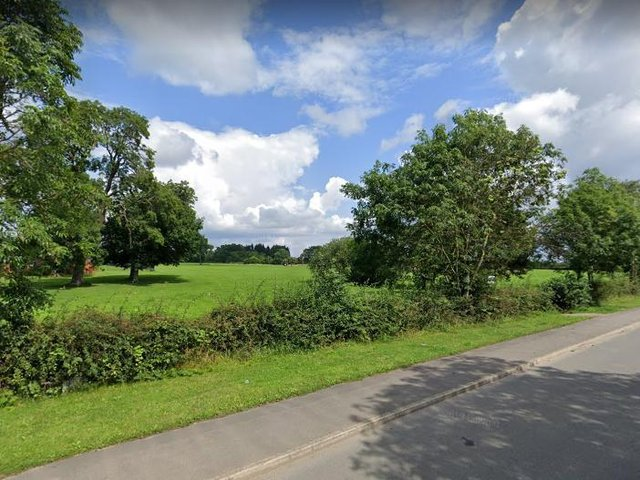 The site, off Red Hall Lane, could one day be home to 380 houses. (Pic: Google maps)