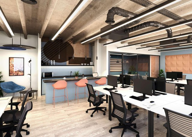 CEG has unveiled its new studio workspace concept for 84 Albion Street in Leeds.