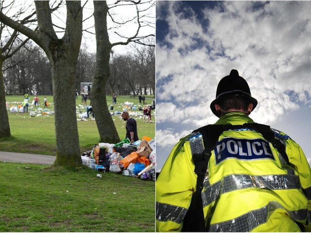 Woodhouse Moor photo: SWNS / police stock image