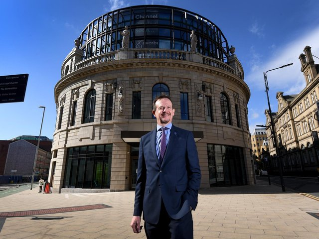 Andrew Cooper, the chief executive of the Leeds Business Improvement District (LeedsBID)