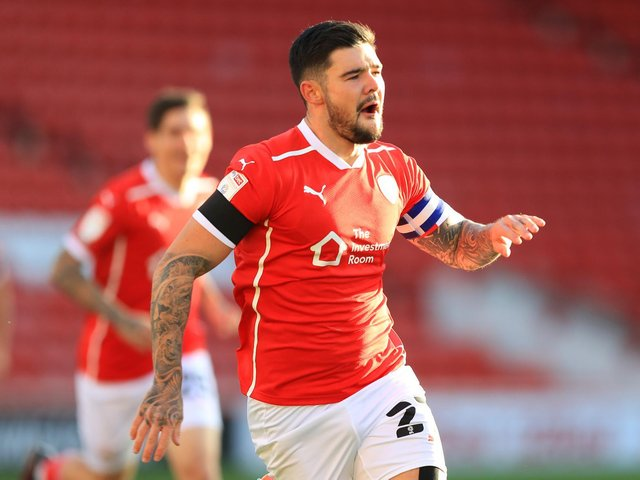 BACKING: For Kalvin Phillips from his former Leeds United team mate and now Barnsley captain Alex Mowatt, above. Photo by George Wood/Getty Images.