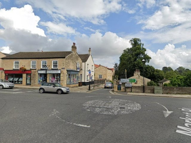 The mini-roundabout off Greenfold Place in Wetherby (photo: Google).