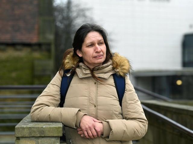 Sarah Lloyd, 46, whose son Kieran Butterworth was fatally stabbed in Harehills in 2013