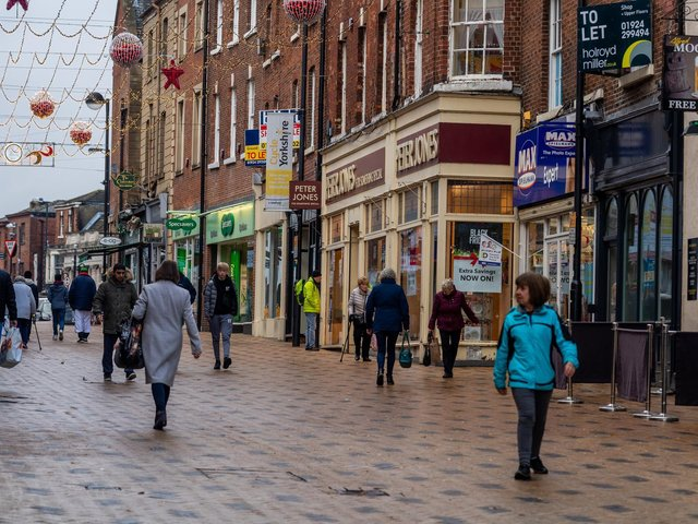 The mayoral candidates in West Yorkshire will hope to boost the economic fortunes of places like Wakefield, pictured in 2019.